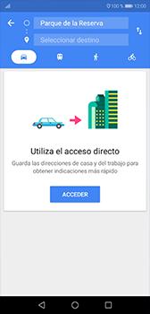 Uso de la navegación GPS - Huawei P20 - Passo 11