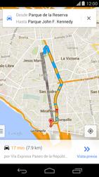 Uso de la navegación GPS - Motorola Moto X (2a Gen) - Passo 18
