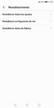 Restaura la configuración de fábrica - Huawei Mate 10 Pro - Passo 5