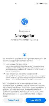 Minimizar el consumo de datos del navegador - Huawei P40 - Passo 2