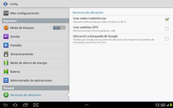 Uso de la navegación GPS - Samsung Galaxy Note 10-1 - N8000 - Passo 8