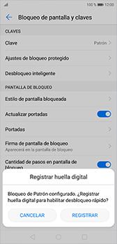 Desbloqueo del equipo por medio del patrón - Huawei P20 - Passo 10