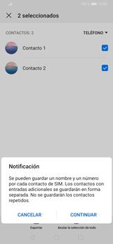 ¿Tu equipo puede copiar contactos a la SIM card? - Huawei P30 - Passo 11