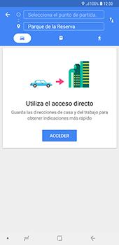 Uso de la navegación GPS - Samsung A7 2018 - Passo 11