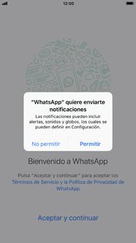 Configuración de Whatsapp - Apple iPhone 7 Plus - Passo 5