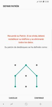 Desbloqueo del equipo por medio del patrón - Samsung Galaxy S9 Plus - Passo 10