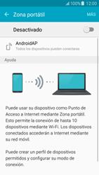 Configura el hotspot móvil - Samsung Galaxy J5 - J500F - Passo 6