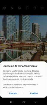 Cómo usar los efectos de la cámara - Samsung Galaxy S10 Lite - Passo 3