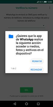 Configuración de Whatsapp - Huawei P Smart - Passo 6