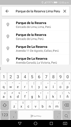 Uso de la navegación GPS - Huawei P9 Lite 2017 - Passo 8