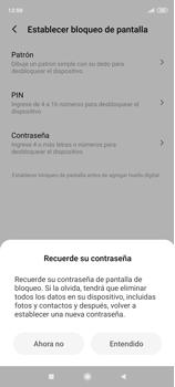 Habilitar seguridad de huella digital - Xiaomi Redmi Note 9 Pro - Passo 6