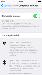 Configura el hotspot móvil - Apple iPhone 5 - Passo 8