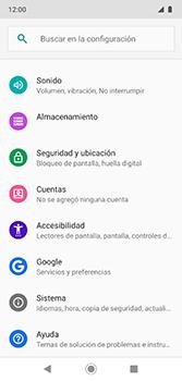 Restaura la configuración de fábrica - Motorola Moto G7 Plus - Passo 4