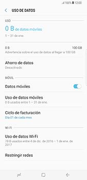 Desactiva tu conexión de datos - Samsung Galaxy S8+ - Passo 5