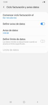 Desactivación límite de datos móviles - Samsung Galaxy A50 - Passo 8