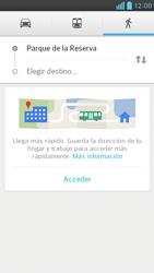 Uso de la navegación GPS - LG Optimus G Pro Lite - Passo 12