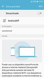Configura el hotspot móvil - Samsung Galaxy J5 Prime - G570 - Passo 6
