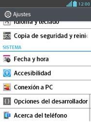 Comparte la conexión de datos con una PC - LG Optimus L3 II - Passo 4
