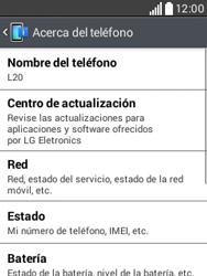 Actualiza el software del equipo - LG L20 - Passo 6