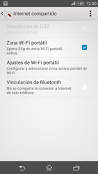 Configura el hotspot móvil - Sony Xperia E 4G - Passo 13