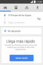 Uso de la navegación GPS - LG L40 - Passo 12