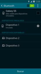 Conecta con otro dispositivo Bluetooth - Samsung Galaxy S5 - G900F - Passo 8