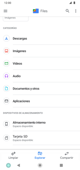 Transferir datos desde la tarjeta SD a tu dispositivo - Motorola Moto G8 Plus (Dual SIM) - Passo 3