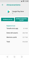 Limpieza de aplicación - Motorola Moto E5 Play - Passo 7