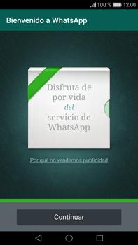 Configuración de Whatsapp - Huawei Mate 8 - Passo 9