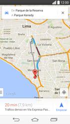 Uso de la navegación GPS - LG G3 Beat - Passo 15