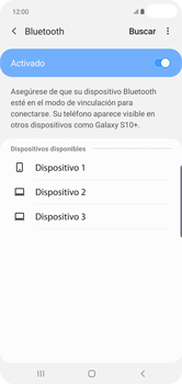 Conecta con otro dispositivo Bluetooth - Samsung S10+ - Passo 7