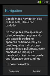 Uso de la navegación GPS - Samsung Galaxy Fame GT - S6810 - Passo 20