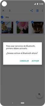 Transferir fotos vía Bluetooth - Motorola One Vision (Single SIM) - Passo 11