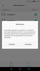 ¿Tu equipo puede copiar contactos a la SIM card? - Huawei P9 - Passo 8