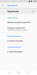 Configura el hotspot móvil - Nokia 3.1 - Passo 7