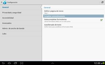 Configura el Internet - Samsung Galaxy Note 10-1 - N8000 - Passo 25
