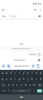 Envía fotos, videos y audio por mensaje de texto - Motorola One Vision (Single SIM) - Passo 8