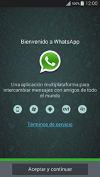 Configuración de Whatsapp - Samsung Galaxy A3 - A300M - Passo 4