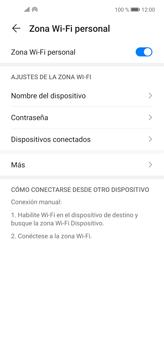 Configura el hotspot móvil - Huawei P40 Lite - Passo 10