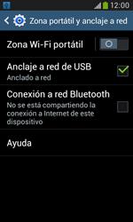 Comparte la conexión de datos con una PC - Samsung Galaxy Trend Plus S7580 - Passo 8