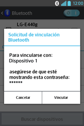 Conecta con otro dispositivo Bluetooth - LG L4 II - Passo 7