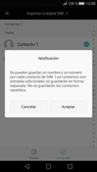 ¿Tu equipo puede copiar contactos a la SIM card? - Huawei P8 - Passo 8