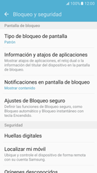 Desbloqueo del equipo por medio del patrón - Samsung Galaxy S7 - G930 - Passo 13