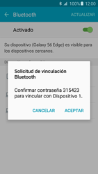 Conecta con otro dispositivo Bluetooth - Samsung Galaxy S6 Edge - G925 - Passo 7