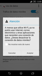 Desactiva tu conexión de datos - Sony Xperia Z3 Compact - Passo 5