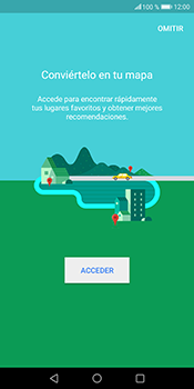 Uso de la navegación GPS - Huawei Mate 10 Pro - Passo 4
