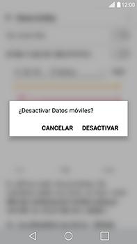 Desactiva tu conexión de datos - LG V20 - Passo 4