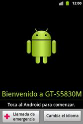 Activa el equipo - Samsung Galaxy Ace  GT - S5830 - Passo 3