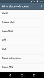 Configura el Internet - Sony Xperia XZ Premium - Passo 12