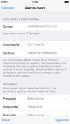 Crea una cuenta - Apple iPhone 6s - Passo 11